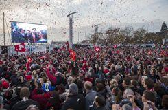 Le retour triomphal de Federer et des Suisses à Lausanne