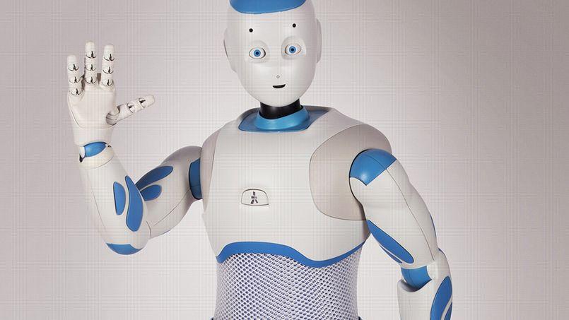 Romeo, qui n'est pour le moment qu'un prototype, préfigure le robot domestique de demain.