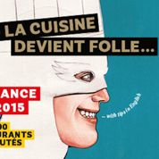 Fous dingues au lancement du guide Fooding 2015