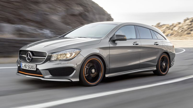 mercedes cla shooting brake l 39 l ment manquant. Black Bedroom Furniture Sets. Home Design Ideas