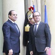 La crise libyenne au cœur des entretiens entre Sissi et Hollande