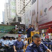 Hongkong : la police évacue un nouveau campement