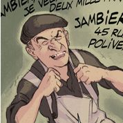 Louis de Funès: son incroyable vie en bande dessinée