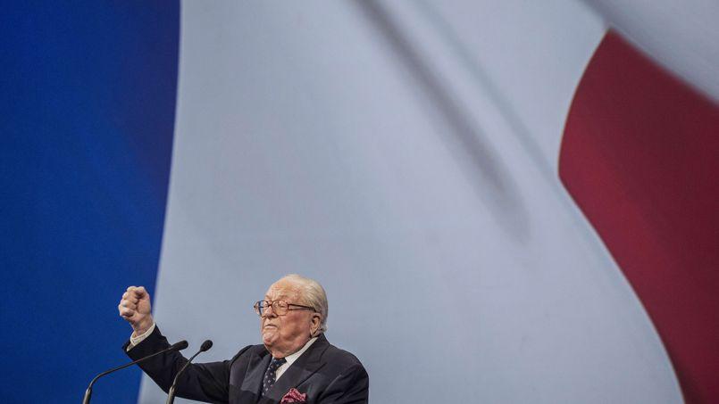 Jean-Marie Le Pen, samedi à Lyon.