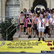 Des élus de Seine-Saint-Denis «à poil contre l'austérité»