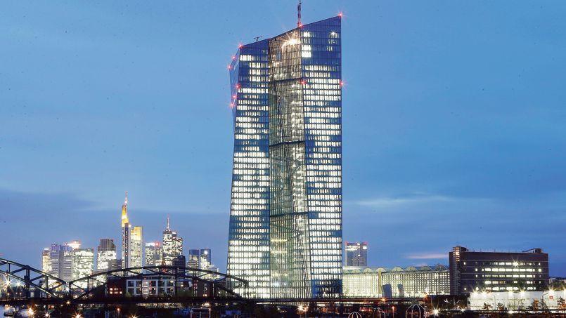 Le nouveau siège social de la BCE, à Francfort.