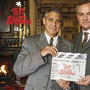 George Clooney dans Downton Abbey : la preuve en photo