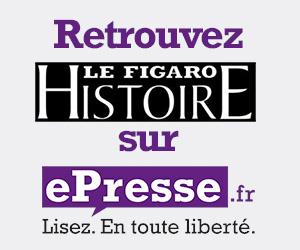 Le Figaro Histoire en ligne iPad iPhone sur le kiosque ePresse.fr