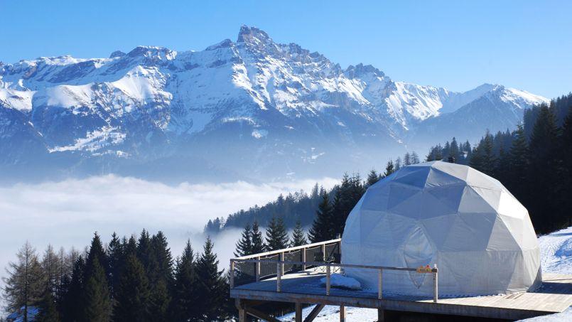 Un s jour dans une tente de luxe au c ur de la montagne suisse - Hotel de montagne suisse ...