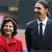 Zlatan reçoit les Bernadotte à domicile