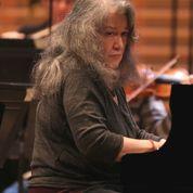 Martha Argerich en répétition dans le Concerto de Schumann