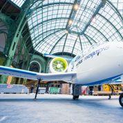 L'e-fan d'Airbus Group atterrit au Grand Palais