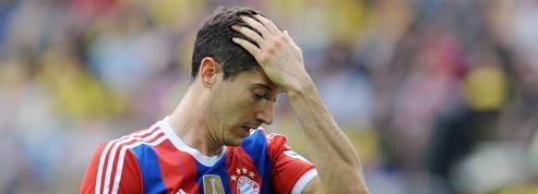 L'incroyable raté de l'avant-centre du Bayern, seul face au but