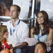 Premier match de NBA pour le Prince William et Kate