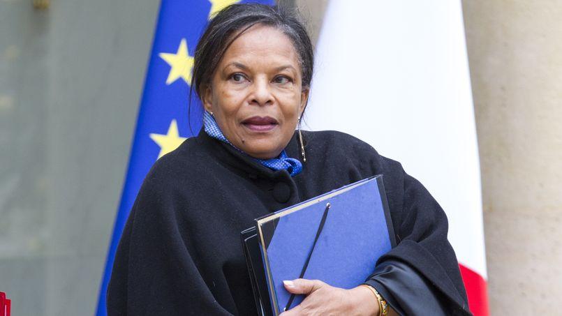 Christiane Taubira, garde des Sceaux.