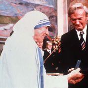 1979 : Mère Teresa reçoit le prix Nobel de la Paix