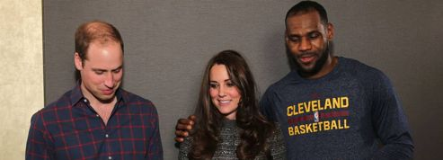 LeBron James brise le protocole royal avec Kate Middleton