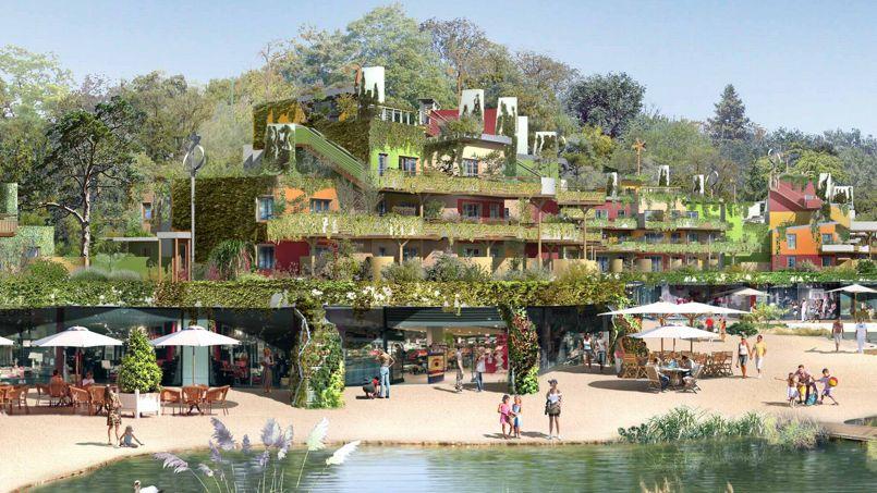 disney et center parcs lancent villages nature. Black Bedroom Furniture Sets. Home Design Ideas