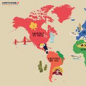 Air France fait voyager les internautes avec Google Street View