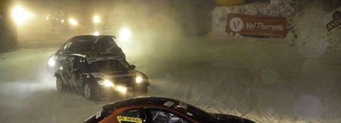 Trophée Andros: la course folle à 160 km/h sur la glace