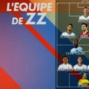 L'équipe de rêve de Zidane, avec un seul Français et Ibrahimovic
