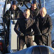 Spectre :les premières images de James Bond sur la Tamise
