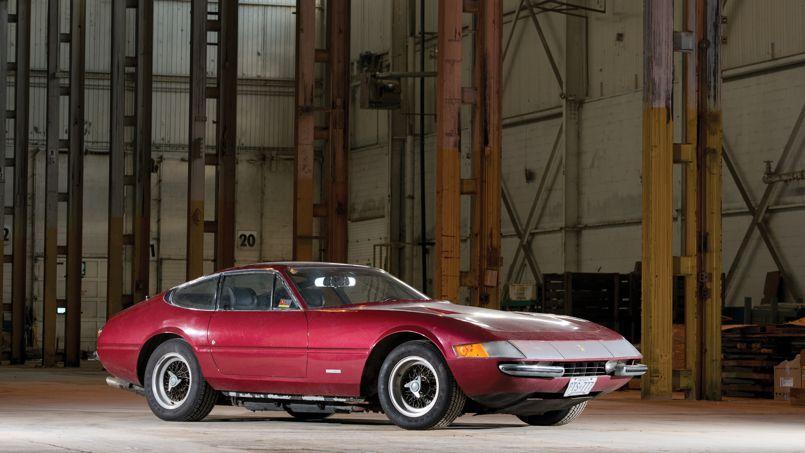 Ferrari Daytona, une sortie de grange aux enchères