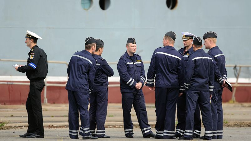 Les 400 marins russes qui depuis le mois de juin se formaient au maniement du navire militaire de classe Mistral vont plier bagages.