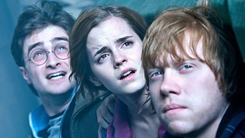 Les trois héros de <i>Harry Potter</i>.