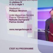 Zapping TV : Sophie Davant embrasse Jean-Pierre Coffe