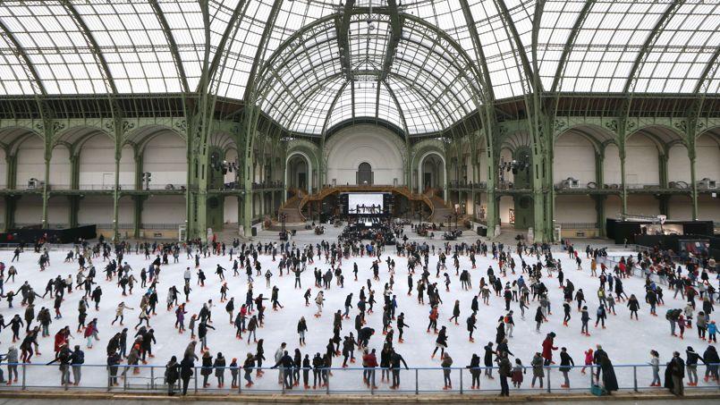 Le grand palais abrite la plus grande patinoire du monde - Expo le grand palais ...