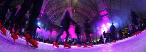 Le Grand Palais abrite la plus grande patinoire du monde