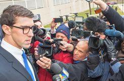 Un an de prison avec sursis pour Michael Phelps