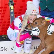 Après sa victoire à Val d'Isère, Lindsey Vonn gagne… un veau