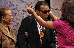 Mohamed Ali hospitalisé