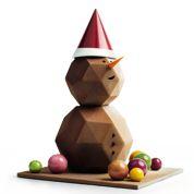 Les chocolats géométriques de Pierre Marcolini pour Noël