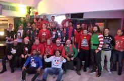Quand les sportifs fêtent Noël ... à leur façon