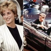 Simulacre sensoriel de mauvais goût avec JFK, Lady Di..