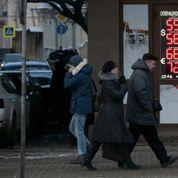 La Russie en récession, le rouble rechute