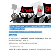Un site recense toutes les grèves en cours ou à venir