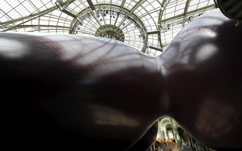 <i>Leviathan</i> au Grand Palais, vue extérieure. Photo François Bouchon/ LE FIGARO