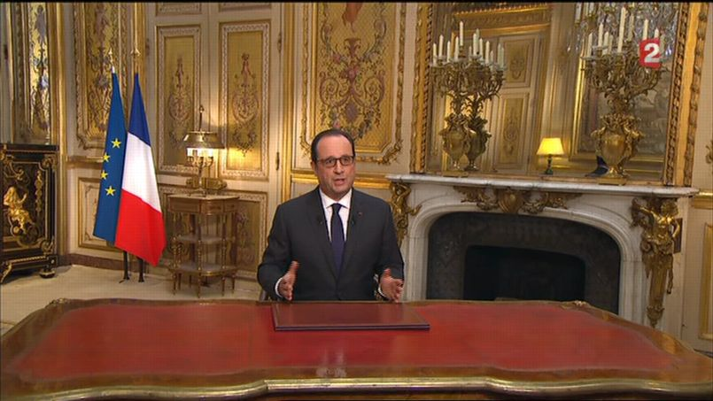Les derniers voeux de François Hollande PHOa81eb864-9127-11e4-b678-5919b517e120-805x453