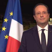 Comment les voeux de François Hollande sont-ils enregistrés ?