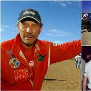 Johnny, Prince Albert, Sardou: quand le Dakar était un évènement people