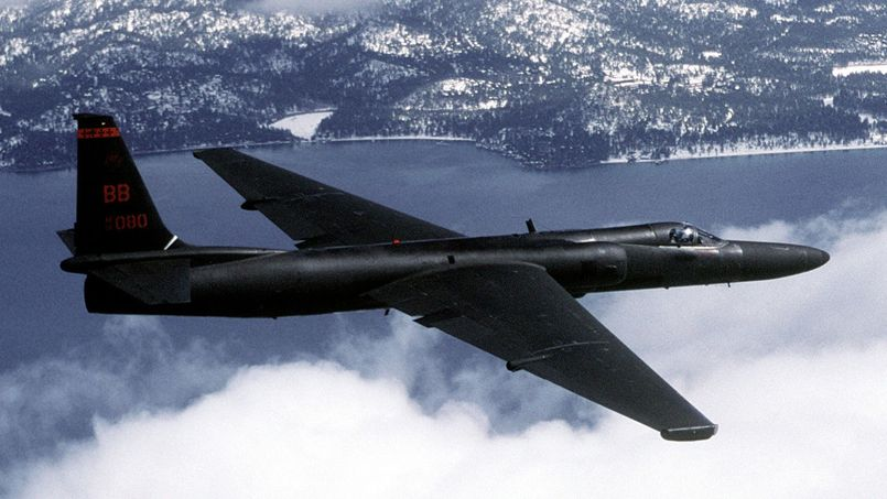 Le Lockheed U-2 était capable de voler jusqu'à 20 kilomètres d'altitude et pouvait prendre des photos sans être repéré par les radars ennemis. Photo US Air Force sous licence Creative Commons.
