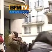 Charlie Hebdo :incident en direct lors d'un reportage de BFMTV