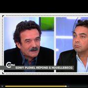 Cà vous : clash entre Patrick Cohen et Edwy Plenel à propos de Michel Houellebecq