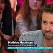 Charlie Hebdo :Mathieu Madénian apprend en direct la mort de Charb et Cabu
