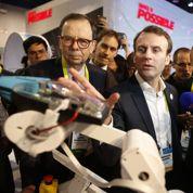 Emmanuel Macron super VRP de l'Internet français
