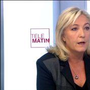 Marine Le Pen : «La France doit être en guerre contre le fondamentalisme»